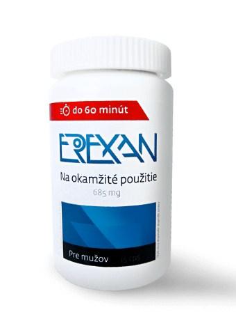 erexan slabá erekcia
