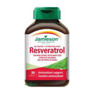 Jamieson Resveratrol-cena-recenzia-hodnotenie