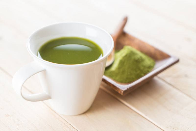 matcha čaj