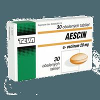 Aescin – Cena, recenzia a účinky