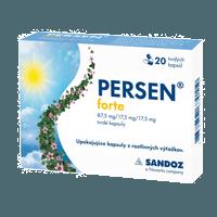 Persen Forte – Na ukľudnenie – Cena + (skúsenosti)