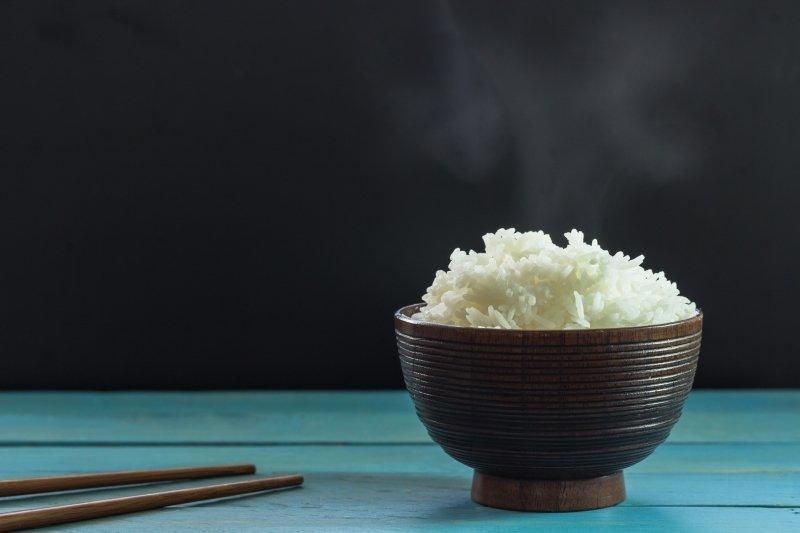 sacharidové vlny ryža