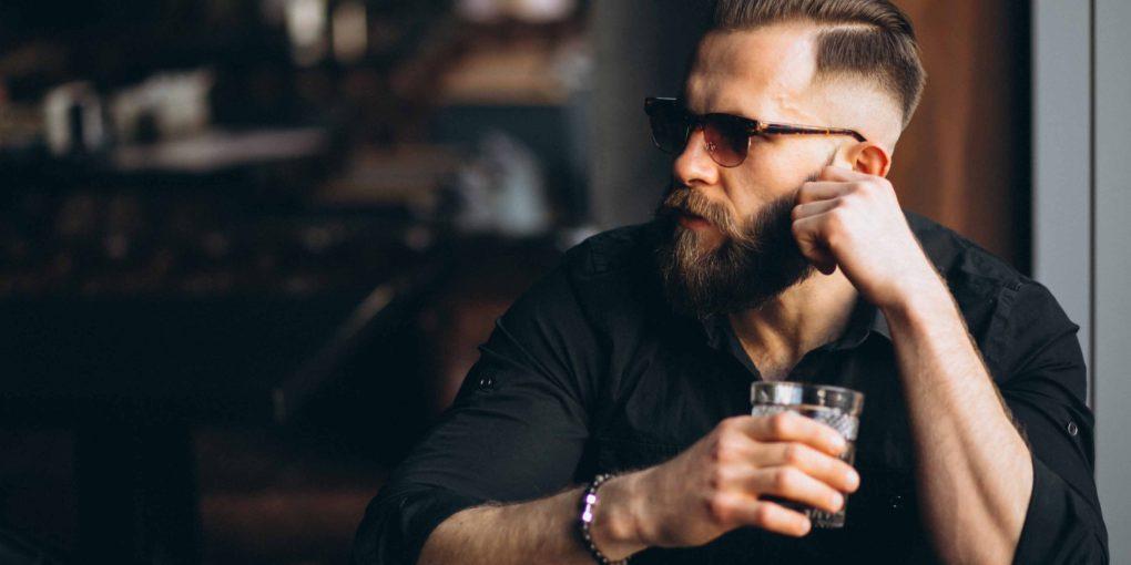 vyšší testosterón muž hipster
