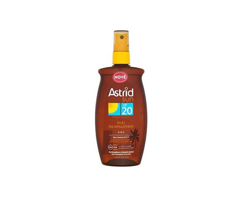 astrid olej na opaľovanie