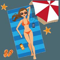 dovolenka a opaľovanie