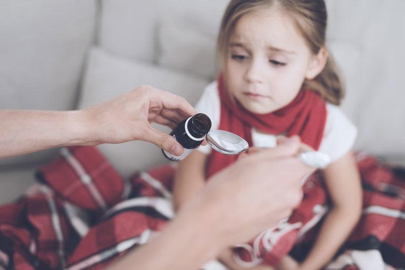 prechladnutie u detí