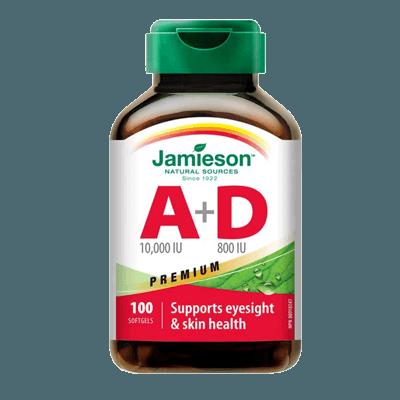 jamieson vitamín A+D