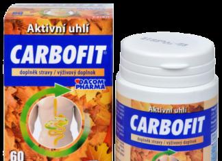 carbofit jedno balenie prípravku